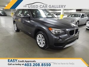 2013 BMW X1 xDrive28i, panorama sunroof, rear sensors, no fees