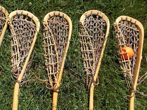 Vintage Wooden Lacrosse Sticks (2 remaining) London Ontario image 4