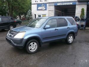 Honda CR-V EX 2002. Condition exceptionnelle! A/C fonctionnel