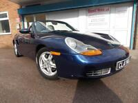 Porsche Boxster 2.7 Petrol Manual Convertible Roadster Blue 2001 (Y)