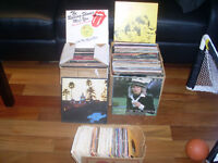 vinyl records disc Disque vinyle collection
