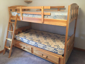 Solid Wood Pine BunkBeds