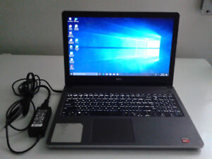 DELL SILVER 15.5 INCHES TOUCH SCREEN INSPIRON 5555 LAPTOP