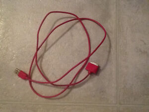 IPad or iPhone Charger cord Pink A++