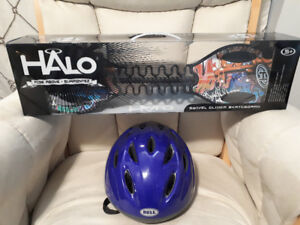 BRAND NEW KIDS HALO Swivel Skateboard