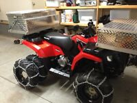 Polaris Sportsman 400 HO AWD