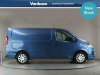 2017 Vauxhall Vivaro 2700 1.6CDTI BiTurbo 125PS Sportive Short Wheelbase L1H1 Lo