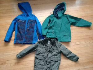 Spring will get here eventually! Boys coats.