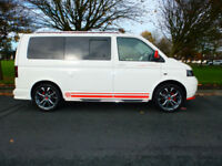2007 07'reg VW Transporter T5 2.5 TDi Camper*Full Side Conversion**