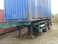 20ft builders container