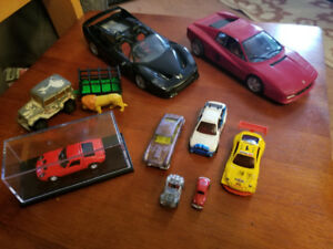 10 Assorted Model cars