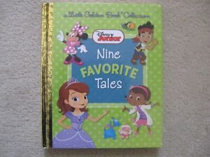 Disney Junior Little Golden Book Collection Hardcover Book (9 St