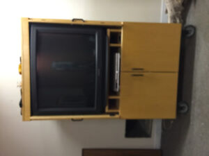 Tv cabinet and tv for sale