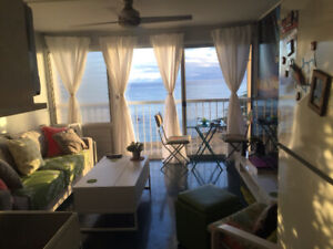 OAHU OCEAN FRONT CONDO  1 bed 1 bath $2,000.00 us month
