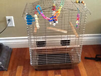 Large Bird Cage with TONS if Accessories