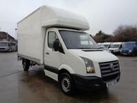 VOLKSWAGEN CRAFTER 2.5TDi (109PS) | LUTON | LWB | 1 OWNER | TAIL LIFT | 2007