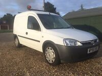 """Vauxhall Combo van 2006 55 Reg 2 owners from new """""""