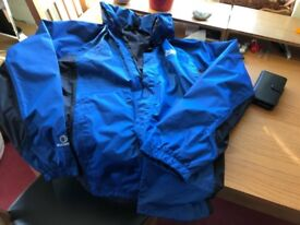 Karrimor Waterproof Cycling Jacket, XL. Never been worn. Hood.
