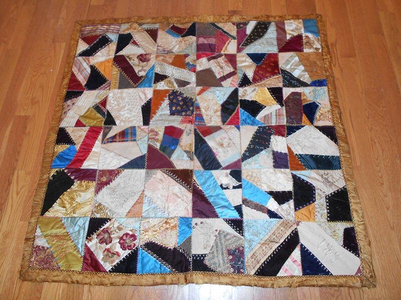 How to Make a Crazy Quilt | eBay : making a crazy quilt - Adamdwight.com
