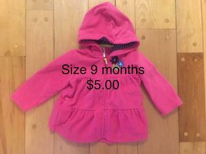 9 months hoodies