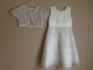 First Communion dress and jacket