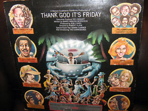 (3 ALBUM SET) - THANK GOD IT'S FRIDAY (Original Motion Picture S Regina Regina Area image 2