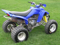2004 Yamaha Raptor 350 1900$ or make an offer