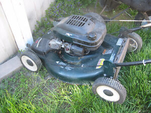 10 GAS LAWN MOWERS FOR SALE $200.00