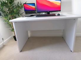 White desk, 120cm x 80cm