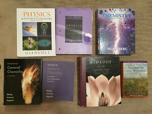 University Textbooks For Sale (prices as listed)
