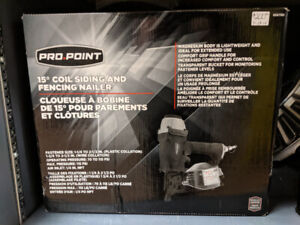 Pro Point 15 Degree Coil Siding and Fencing Nailer (New)
