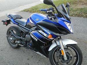 Yamaha FZ6 R 2013