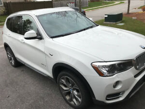 2017 BMW X3 xDrive28i SUV, Crossover (LEASE TAKEOVER)