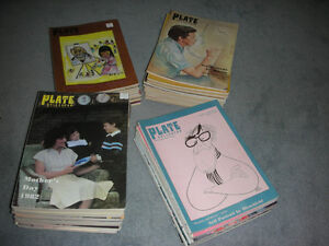 The Plate Collector Magazine Back Issues 1980-85