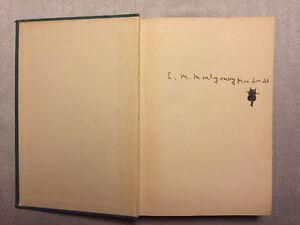SIGNED!  L.M. Montgomery, author of ANNE OF GREEN GABLES Rare