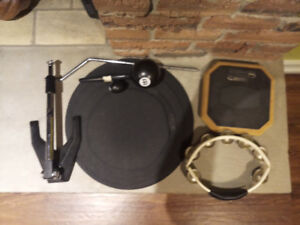 Bass drums mic stand and other