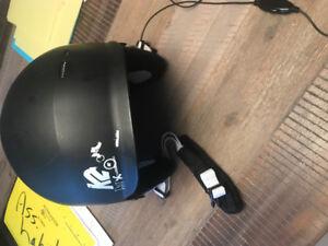 casque de ski k2 avec fil pour mette de la musique