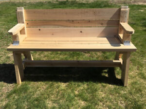 Picnic Table Benches for Missions
