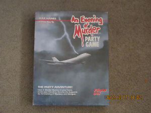 An Evening of Murder Party Game
