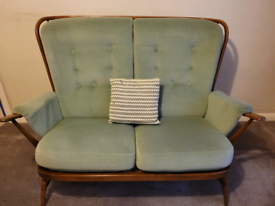 Ercol Windsor Springtime Two-Seater Settee