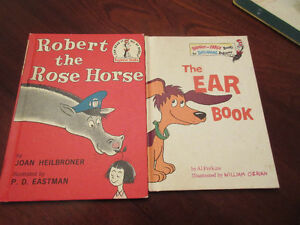 2 Beginner Reader Books - Robert the Rose Horse & The Ear Book