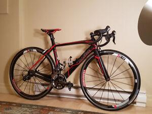 Vélo de route haute gamme Wilier cento 1sr full carbone !!!