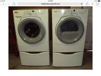 Whirlpool Duet Frontload Washer an Dryer