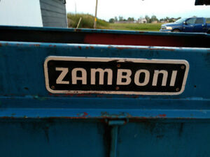 Zamboni 200 - 3PTH Ice Surfacer for a tractor