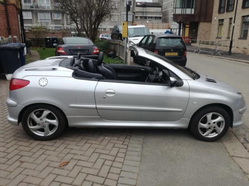 2005 peugeot 206 cc 1 6 16v allure convertible 2dr petrol. Black Bedroom Furniture Sets. Home Design Ideas