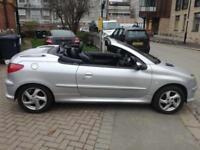 2005 Peugeot 206 CC 1.6 16v Allure Convertible 2dr Petrol Manual (166 g/km,