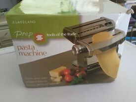 Pasta machine, pasta maker.