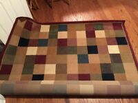 Area rug 8x12 great condition