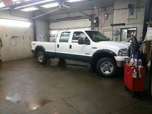 Ford F350 XLT Diesel, Crewcab, extended bed, cw new Blizard Plow