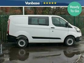 2018 Ford Transit Custom 2.0 TDCi 105ps Double Cab Short Wheelbase L1H1 Low Roof